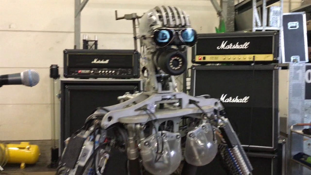 Robot band tnt