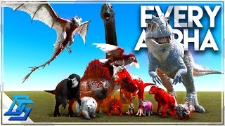 Extinction Core Mod - Every Alpha Vs. Chief Munch - Ultimate Battle - Ark Survival Evolved