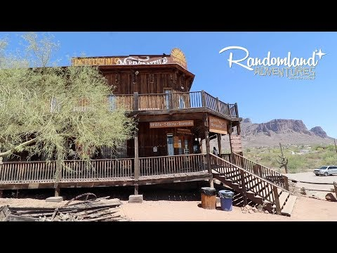 The Lost Dutchman's mine, Forgotten Movie Ghost Towns, and someone returns