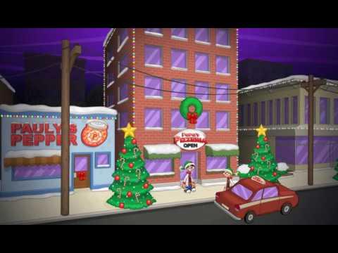 Papa's Pizzeria HD - Christmas Season