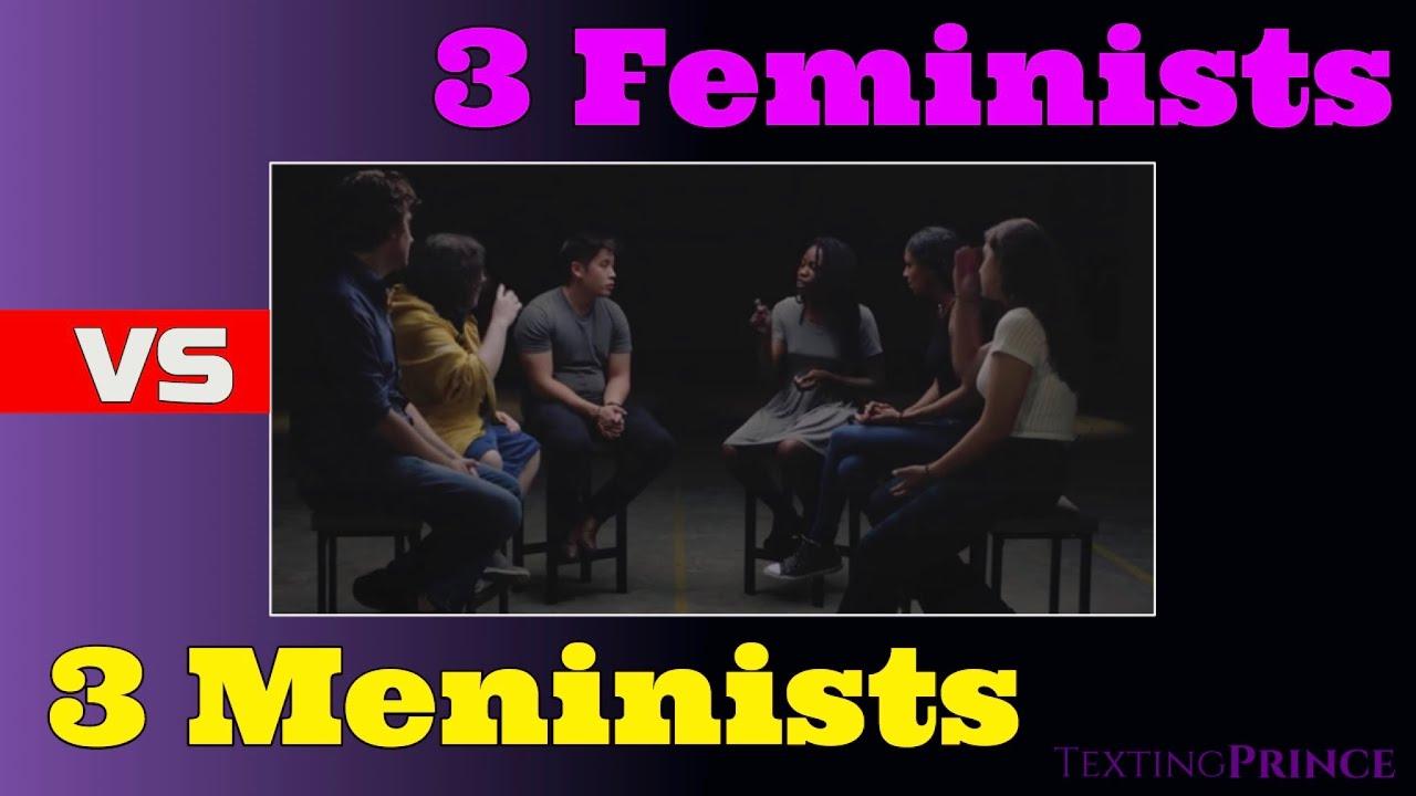 3 Feminists debate 3 Redpillers (response)