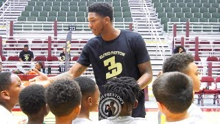 Elfrid Payton hosts 4th Youth Camp, Orlando Magic SF Melvin Frazier & UNO's Lamont Berzat play 1on1