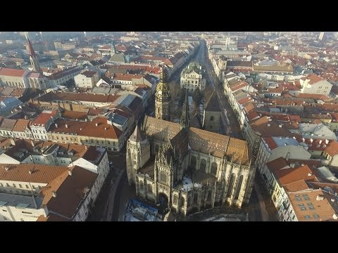 DJI Phantom 3 Advanced, first flight, Kosice, Slovakia