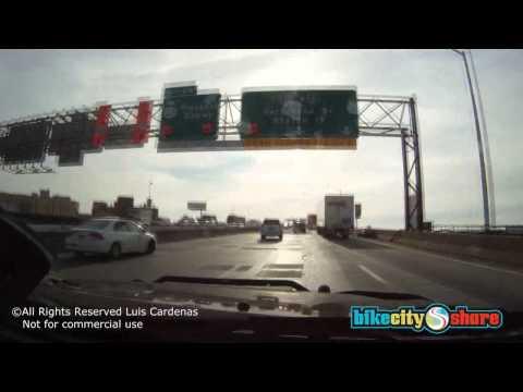 US: New York City Wall Street to Verrazano Br. (car) 49 min