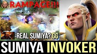GENIUS SUMIYA INVOKER Next Level Gameplay Epic Combo Comeback Dota 2