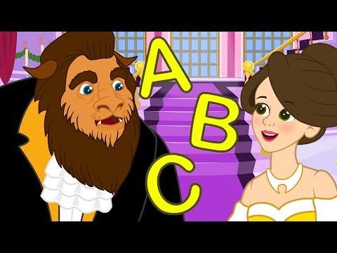 La Bella e la Bestia nel Canzone sulla fonetica dell' ABC | Canzoni per bambini