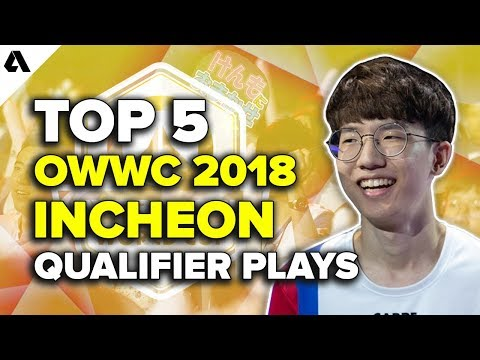 Top 5 Overwatch World Cup Incheon Qualifier Plays | OWWC 2018 thumbnail