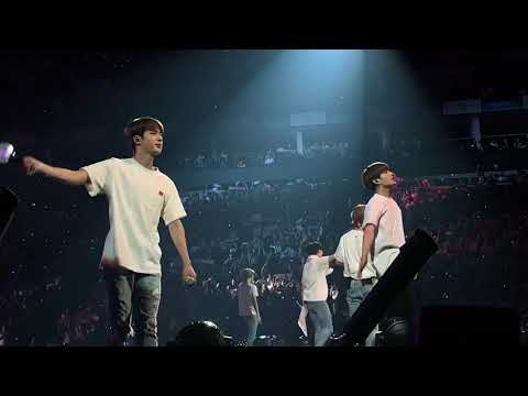 London D1- BTS Love Yourself Tour Ending Song. Answer: Love Myself