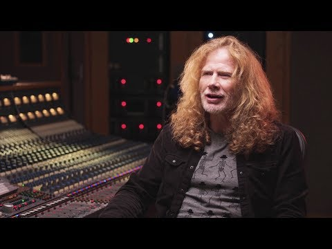 Anne Erickson - Megadeth's Dave Mustaine Has Been Diagnosed with Throat Cancer