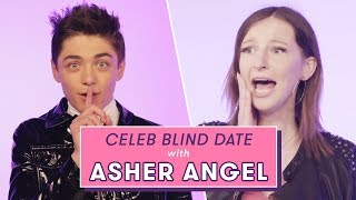 Asher Angel\'s Blind Date With a Superfan | Celeb Blind Date