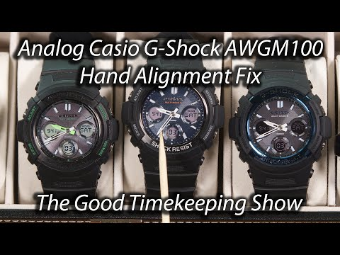 Casio G-Shock Hand Alignment Fix