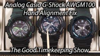 Casio G-Shock Hand Alignment Fix