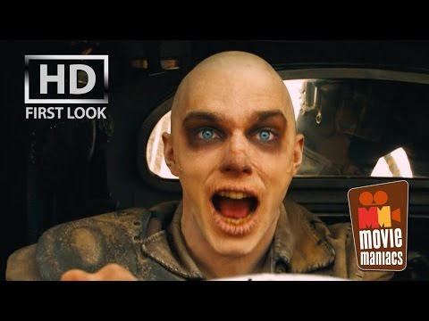 Mad Max Fury Road | Nux Attacks FIRST LOOK clip (2015) Nicholas Hoult