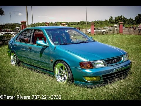 1996 Hellaflush Nissan Sentra with Manual Swap, All Motor!