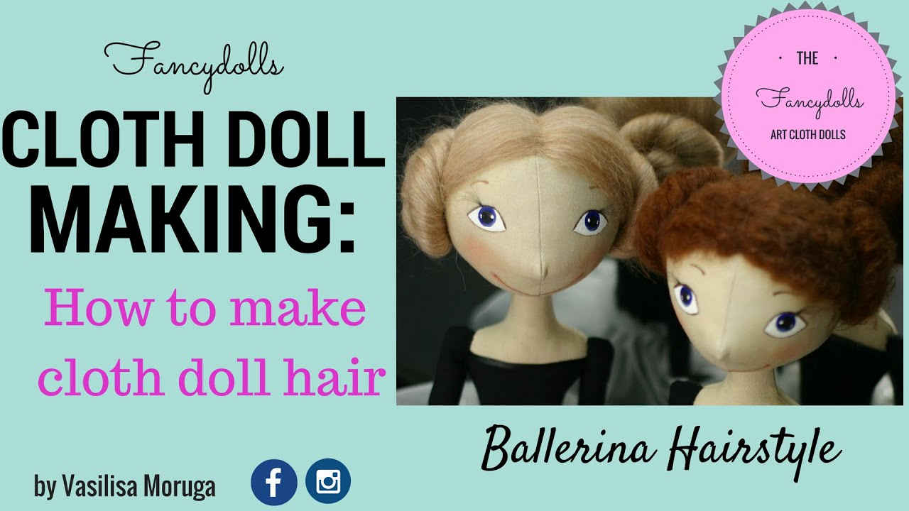 cloth doll making how to make cloth doll hair youtube. Black Bedroom Furniture Sets. Home Design Ideas