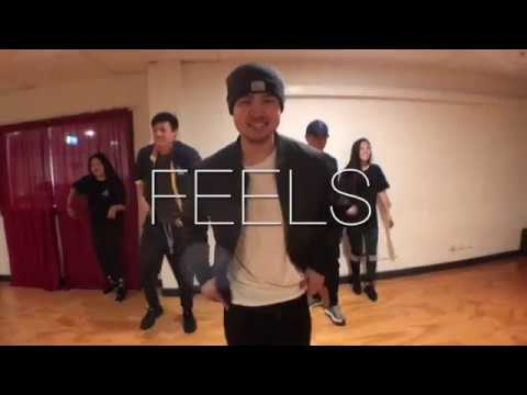 FEELS - Calvin Harris ft. Pharrell, Katy Perry & Big Sean // Andrew Chong x Andrew Lais CHOREOGRAPHY