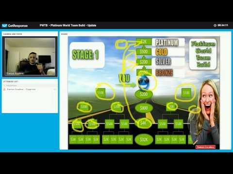 Platinum World Team Build Webinar 3 4 17 - DON'T WAIT JOIN TODAY!!