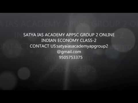 GROUP 2 ONLINE  INDIAN ECONOMY CLASS 2