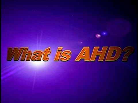 What is HD AHD? Mvteam CCTV AHD Camera Video Demo