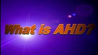 What is HD AHD? Mvteam CCTV AHD Camera Video Demo