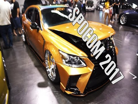 SPOCOM ANAHEIM CAR SHOW 2017: CALIFORNIA
