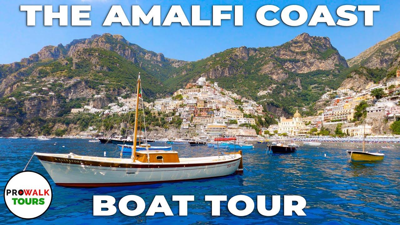 Amalfi Coast, Italy Boat Tour - Incredible Moving Art!