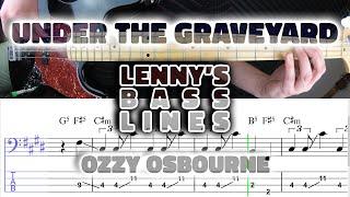Baixar Ozzy Osbourne - Under The Graveyard - Bass Line - Score - Tabs