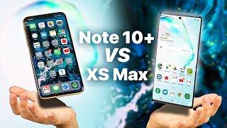 Galaxy Note 10 Plus vs iPhone XS Max | FULL COMPARISON | Will I Switch??