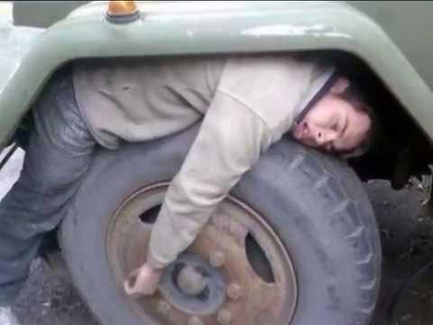 Страшная авария за мостом по Александрова -