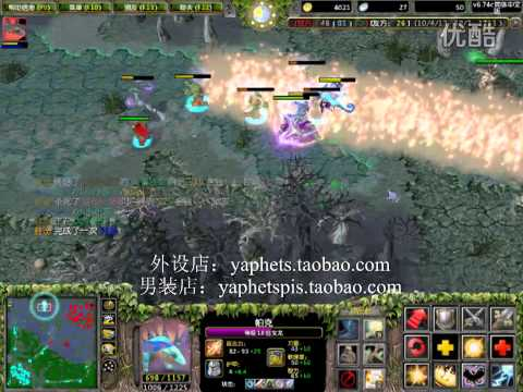 Yaphets PIS First Person Dota Puck & Sniper