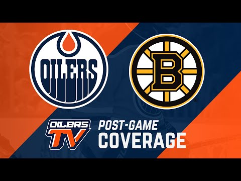 ARCHIVE | Post-Game Coverage – Oilers vs. Bruins