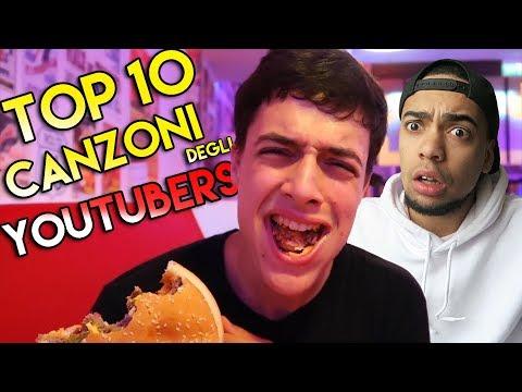 TOP 10 CANZONI DEGLI YOUTUBERS