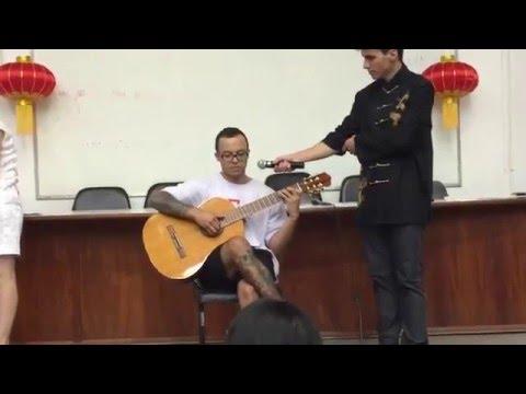 Chinese Bridge 2016 - UFMG - Belo Horizonte - Cultural Presentation William