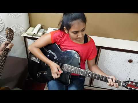 """Escape"" by Ventures  -  Guitar - Tanvi Gandhi  - IMM, Pune."