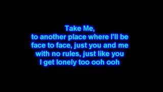 Drake - I Get Lonely Too Lyrics on The Screen! HD