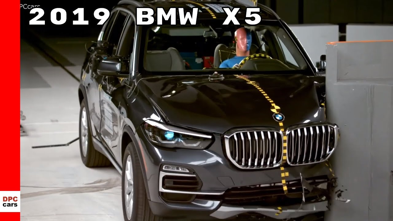 2019 Bmw X5 Crash Test Rating Youtube