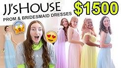 $1500 JJsHOUSE PROM DRESS HAUL!!! (Bridesmaids Edition) Bridesmaid Dress Haul 2019