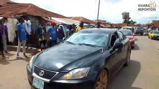 Happy Crowd Welcome Ayilara in Oju Ekun Zarumi Ward (Video)