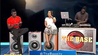 Melody Mbassa #thebaseITV #nikukoleze song media tour...[ Interview ]