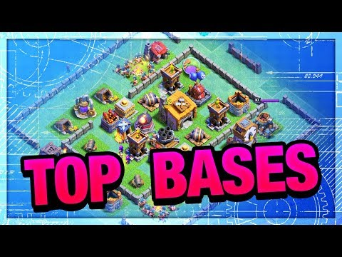 TOP BASES! Clash of Clans Builder Hall Strategy - Episode 2