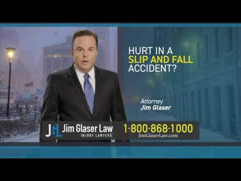 Hurt in a Slip and Fall Accident? Call Attorney Jim Glaser!