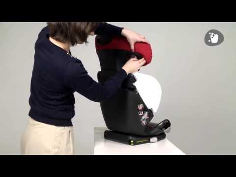 Maxi Cosi Rodifix Как снять чехол с детского автокресла