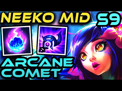 NEEKO MID - Arcane Comet | SEASON 9 | Runes + Gameplay | Zoose Guides | League Of Legends
