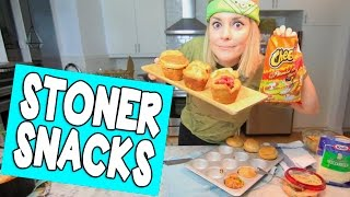 4/20 STONER SNACKS // Grace Helbig