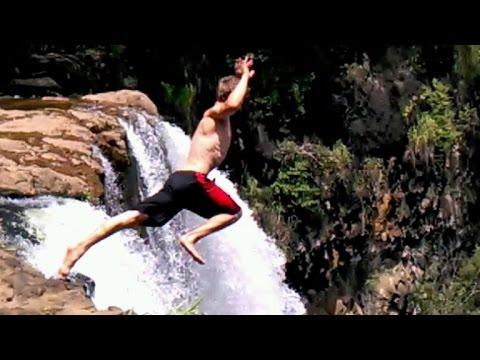 Suntrails Montezuma Waterfall Canopy Tour Jumping Off The