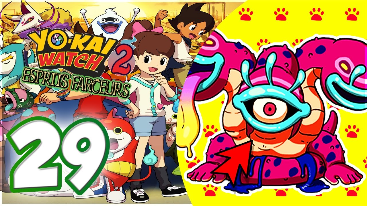 yo kai watch 2 esprits farceurs fr 29 comment avoir un boss yo kai youtube. Black Bedroom Furniture Sets. Home Design Ideas