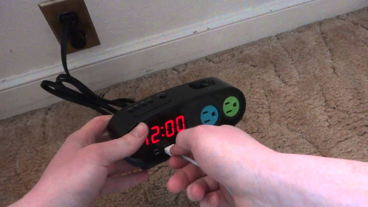sharp digital alarm clock with usb charge port. sharp digital alarm clock with usb charge port h