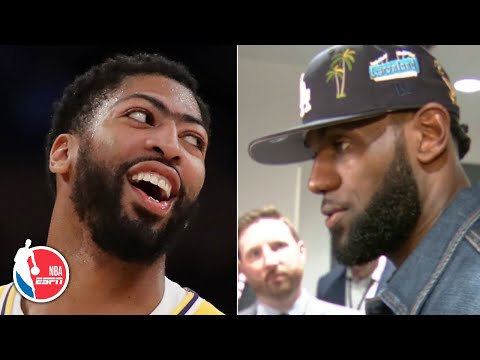 LeBron James: There's nothing Anthony Davis can't do on the floor  NBA Sound