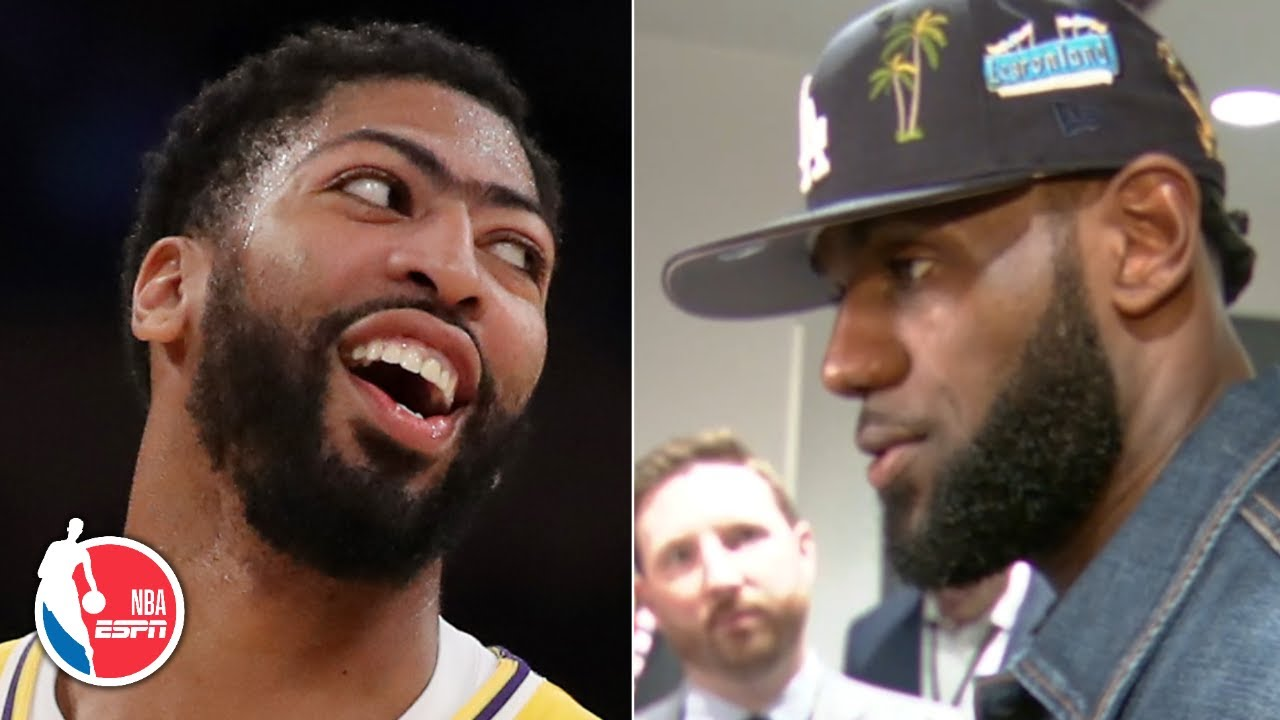 LeBron James: There's nothing Anthony Davis can't do on the floor | NBA Sound