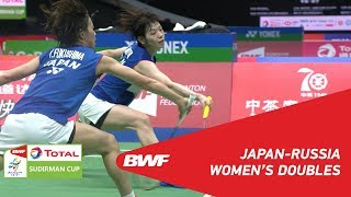 Download Video G1 | WD | FUKUSHIMA/HIROTA (JPN) vs BOLOTOVA/DAVLETOVA (RUS) | BWF 2019 MP3 3GP MP4
